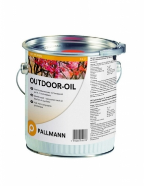 Террасное масло Outdoor-Oil компании Pallmann